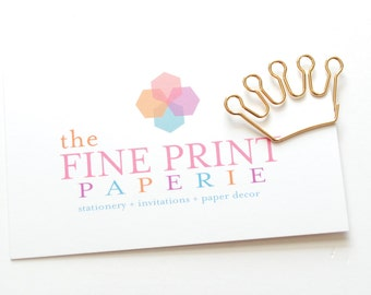 PAPER CLIPS, Gold Planner paper Clip, Planner Clip, Paper Clips, Kate Spade Inspired, Kikki K, Filofax, Office School Supplies, PaperClips