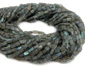 Labradorite Rectangle 7mm x 4mm Beads- FULL STRAND (S101B9-02)