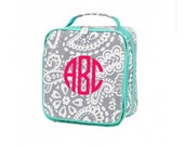 Personalized Lunch Bag - Monogrammed Lunch Box - Insulated & Durable Monogrammed Lunch Box - Lunch Box Personalized FREE