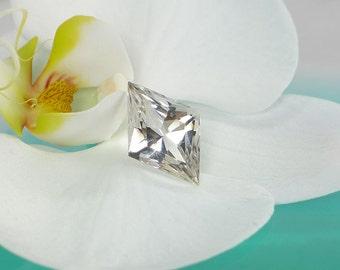 Conflict Free Gemstone, Diamond Shaped Gemstone, Fancy Cut Gemstone, One of a Kind Gemstone, Handmade Jewelry, Custom Made Designs, Herkimer