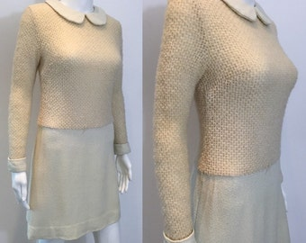 Fantastic Harrods of London 60's Wool Dress