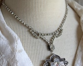Assemblage Necklace, silv...