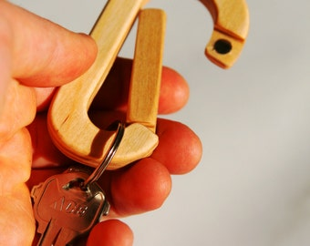 Magnetic Plywood Carabiner