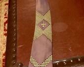 Vintage Necktie 1950 1960
