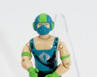 Gi Joe Copperhead Figure (v1) Series 3 1984 Cobra Vintage Action Moccasin Water Python Hasbro