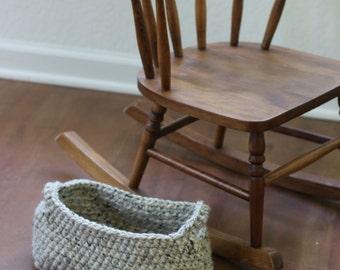 Crochet basket, gift basket, crochet storage,  basket, ready to ship