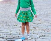 Teenage Mutant Ninja Turtles Skirt,Skater Skirt,Girls TMNT,TMNT Clothing,Toddler Skirt,Toddler Clothing,TMNT Toddler