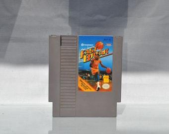 Vintage Nintendo Game Magic Johnson's Fasr Break (NES) by Tradewest 8 bit 1990