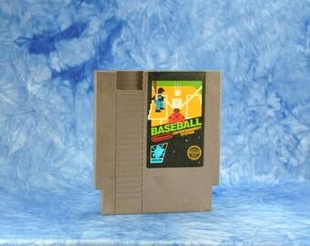 Vintage Nintendo Game Baseball (NES) By Nintendo 8 bit 1983 - Major League - Umpire - Pitcher - Famicom - Runs - Home Run - Strike - Ball