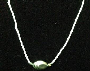 Green Swirly Bead