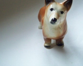 Vintage Corgi  Dog Ornament