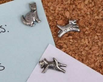 Dog Pushpins For Your Corkboard