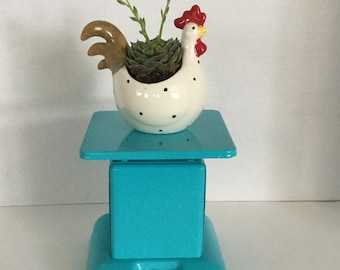 Vintage Kitchen Scale Farmhouse Decor,Turquoise
