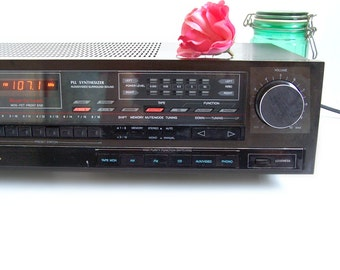 Vintage 1980s SHERWOOD S-2730CP Digital Stereo Receiver FM AM 35 watts / channel Multi inputs outputs Supports 4 speakers Nice Rig.