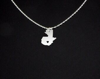 Guatemala Necklace - Guatemala Jewelry - Guatemala Gift