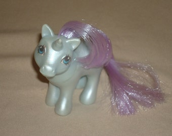 FREE SHIPPING! RARE Pearlized Baby Glory My Little Pony Mail Order Vintage G1