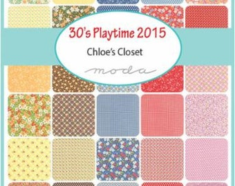 30's Playtime 2015 Jelly Roll by Chloe's Closet - One Jelly Roll - 33040JR