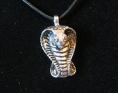 Snake Eyes cobra pendant
