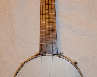 Old Banjo Ukulele