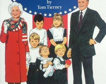 Paper Dolls George Bush and his Family