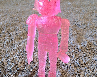 SEA-BORG MUTATION  Wave 2 Plastic Resin Figure - pink glitter