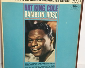 "Original Nat King Cole ""Ramblin' Rose"" Reel to Reel Tape"