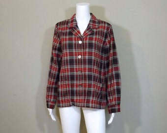 The TOG SHOP Wool Blend Blouse Size Large