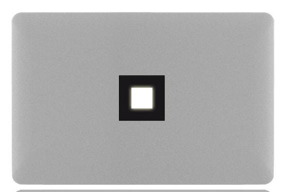 SQUARE MacBook Sticker Decal