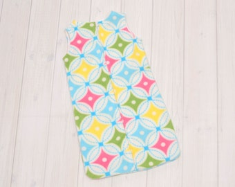 Sleeping Baby Sleep Sack - Newborn Wearable Blanket - Toddler Blanket Sleeper - Baby Winter Bunting Bag - Kaleidoscope - 943