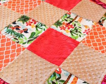 Hawaiian Hula Girl Blanket