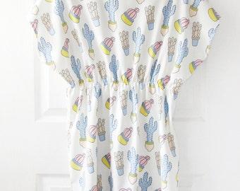 SALE! Batwing / Kimomo Cactus Dress