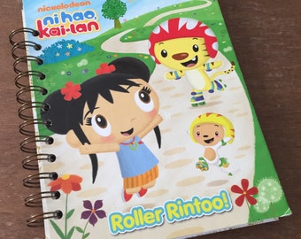 Ni Hao Kai-Lan Little Golden Book Recycled Journal Notebook