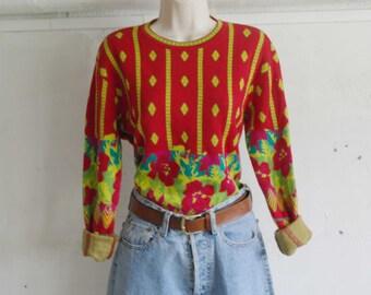 Vintage 70 Pullover Multicolor