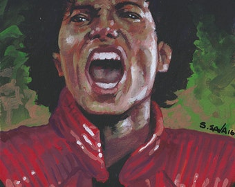 Michael Jackson from Thriller...