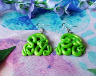 Space tentacles earrings