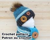 Rustik kit crochet pattern by Akroche Tatuk (english and french). PDF PATTERN ONLY!