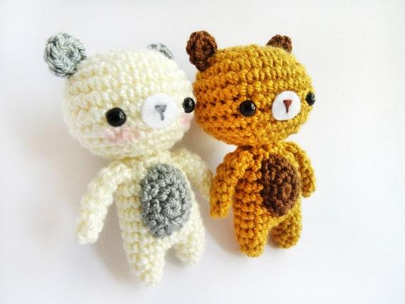 Amigurumi Little Bear : Amigurumi Crochet PDF Pattern Little Bear