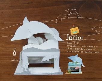 Dolphin Automata Toy Kit - for 8-12