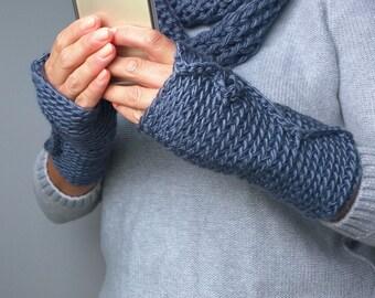 Fingerless Gloves / Crochet Gloves / Fingerless Mittens