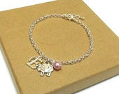 Sheep Bracelet or Sheep Necklace, Sheep Gift, Animal Jewellery, Farm Animal Jewellery,Sheep Jewellery, Sheep Jewelry