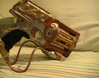 Steampunk Pistols, Hand Cannon, Cosplay Guns (Custom Built)