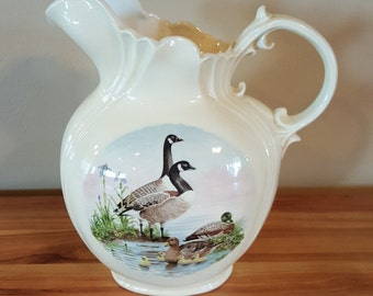 1970's Arners Canadian Goose Pitcher