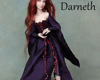 OOAK Art Doll Sculpture - Darneth - Elf by Ksheyna Nightswood