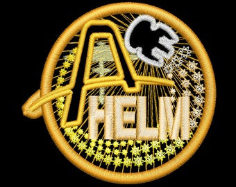 Artemis Helm Station Insignia Patch - Iron-On