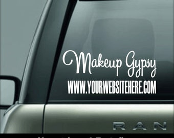 Younique Car Decal Etsy - Personalized window decals for cars