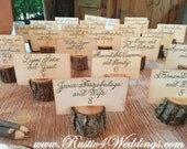 100 rustic place card holders, tree card holders, place holders, rustic wedding decor, wood place card holder, rustic wedding supplies
