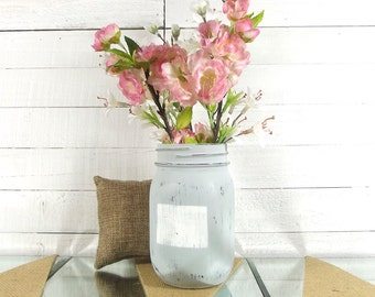 Colorado Art, State Art, Home Accessories, Home Accents, Distressed Mason Jars, State Love, Living Room Decor, Painted Mason Jar