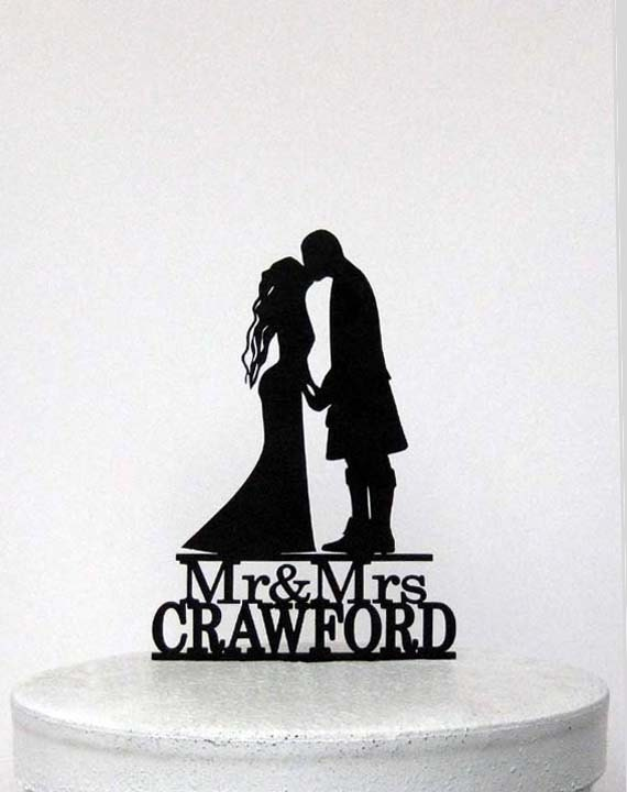 personal wedding cake toppers uk personalized wedding cake topper scottish wedding scottish 18293