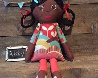Modern Cloth Doll - Abby
