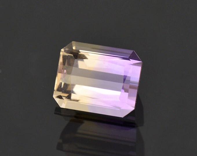 Beautiful Bi-Color Ametrine Quartz Gemstone from Bolivia 3.07 cts.
